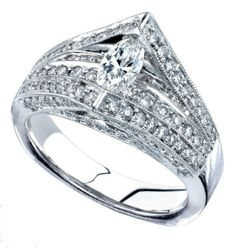 Learn more about our large selection of engagement rings located at Kux Jewelers at 650 N. Diamond Engagement Rings, Love Story, Wedding Bands, Jewels, Diamonds, White Gold, Women, Collection, Jewelery