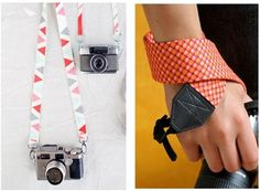 camera straps diy - why not make multiple straps for different outfits.  Thanks Centsational Girl.