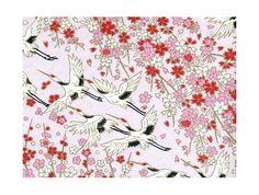 lot de 10 - Papier washi japonais aux jolis motifs 15cm : Origami par sarigami