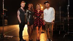 Ronan Keating is wearing our Dublin Tee on the new set of Channel 7 X-Factor