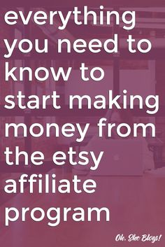 Do you want to be an Etsy Affiliate? (Of course you do!) We've outlined how to become an Etsy affiliate, the easiest way to add those links to your site, and even shared some Etsy post ideas!