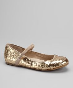 Take a look at this Gold Ridley Ballet Flat by Dotty Shoes on today! Little Fashionista, Baby Feet, Gold Glitter, Ballet Flats, Take That, Pairs, Purses, Accessories, Shoes