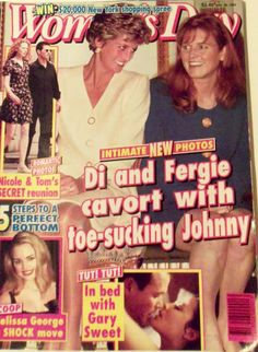 Woman's Day 1995 - Diana and Fergie