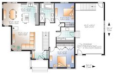 Classique, Champêtre   W3133-V1   Maison Laprise - Maisons pré-usinées