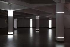 Instalações de luz por Pablo Valbuena
