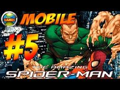The Amazing Spider Man Mobile Parte #5 Java Game Touch