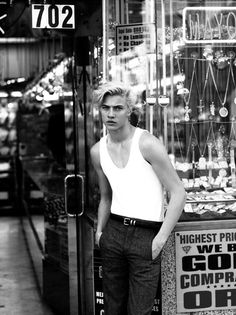 Lucky Blue Smith Photographed by Chad + Paul and Styled by Claudia De Meis for Rollacoaster Magazine