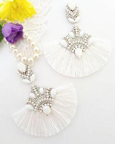 Bride Earrings, Bridesmaid Earrings, Rhinestone Earrings, Wedding Earrings, Tassel Earrings, Chandelier Earrings, Bridesmaid Gifts, Statement Earrings, Handmade Jewellery