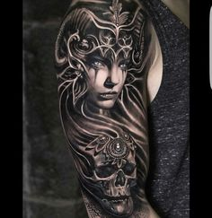 Image result for valkyrie tattoo for men