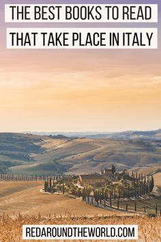 If you're looking for the best books about Italy, look no further. These are the best books set in Italy that will have you planning your next trip in no time. Read these Italy Travel books to feel like you're actually there. Best Travel Books, Literary Travel, Best Books To Read, Good Books, Asia Travel, Italy Travel, Wanderlust Travel, Travel Usa, Travel Inspiration