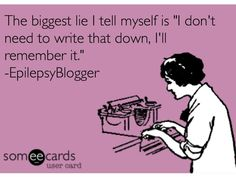 Lol so true! Our poor little brains! Haha  EpilepsyBlogger: I Can't Keep Up