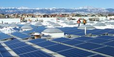 Walmart brings solar-powered stores to the Centennial State:  Walmart's solar-powered stores in Colorado are expected to generate 3 million kilowatt-hours of clean, renewable energy each year, which is enough to power more than 225 homes, according to the EPA calculator.  Additionally, the endeavor will keep more than 5 million lbs of CO2 emissions from entering the atmosphere, create local jobs, and ultimately help Walmart's objective of reducing carbon footprint.  #WalmartGreen