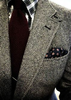 The luxury of bespoke tailoring begins with the fabrics - fine wool, silk and cotton.