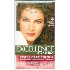 5c969f70ae9 L Oreal Paris Excellence Creme Hair Color 4 Natural Dark Brown     Check  out this great article. EazyGetz · Online Shopping Worldwide Free Shipping