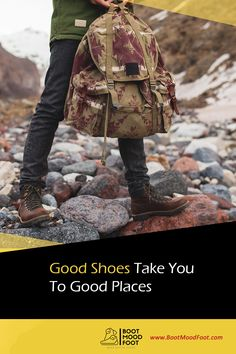 Good Shoes Take You To Good Places #bootmoodfoot #shoeslover #quoteoftheday Messenger Bag, Satchel, Boots, Places, Crotch Boots, Shoe Boot, Crossbody Bag, Backpacking, School Tote