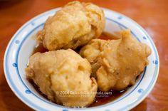 Buñuelos. Photo by Galas de Guatemala l Only the best of Guatemala. Visit our recipe link: http://recetas.mundochapin.com