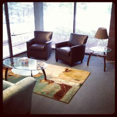 Atlanta Therapy Office Business Office Decor, Office Ideas, Therapist  Office, Counseling Office,