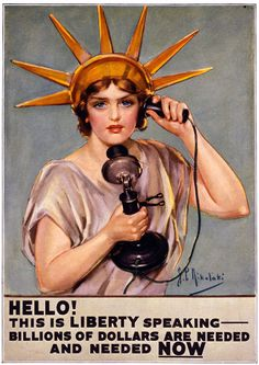 Hello! This is Liberty Speaking. Billions of dollars are needed and needed NOW.