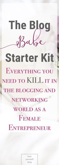 Here's the ultimate necessity list of must-have items to get in order to kill it in the blogging biz. This isn't your average list of who to host with or what platform your blog should be on. This list is of all the PHYSICAL, TANGIBLE things you need to start out!