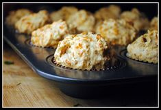 Bacon Cheddar Beer Bread Muffins. My favorite things in one recipe. wow