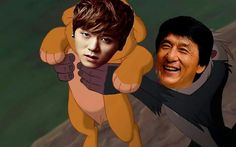 Simba from JJCC! ^^ - not gonna lie, this made me laugh. | not gonna lie... I'm still laughing X]