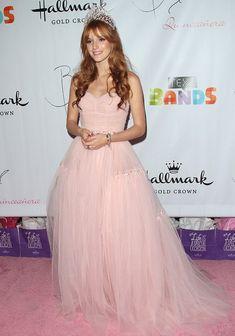 Bella Thorne wearing Sherri Hill