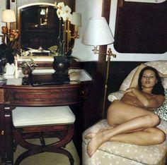 Kate Moss by Juergen Teller on a yacht in Monte Carlo, 1999
