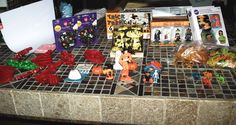 Huge Lot of Vintage Cake Cupcake Toppers Pics Decoration  Halloween 203 pieces