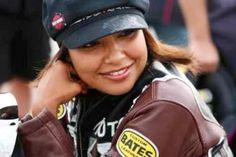 Peggy Llewellyn, NHRA Pro/Stock Bike racer.