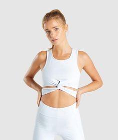 170defcf4e11cd Gymshark Reversible Contrast Crop Vest - Black/Light Grey Marl 2 |  fitness/inspiration | Jogging bottoms, Vest, Workout wear