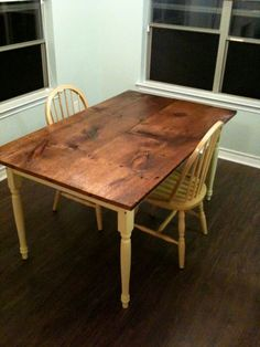 18in Pine Plank Table: Wood Countertops, Farm Tables, Flooring, Mantels