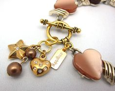 SOLD! $46.00 Heart-Warming Cocoa Bracelet
