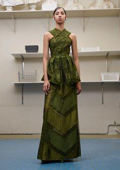 Givenchy Fall 2016 Couture Fashion Show - Yasmin Wijnaldum