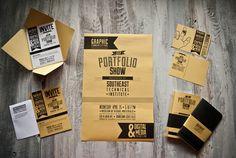 2012 Southeast Tech Portfolio Show Campaign by Adam Burtis, via Behance