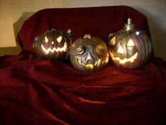 Steampunk pumpkins