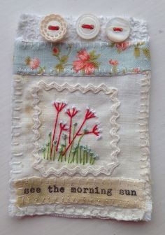 Marilyn Stephens - Hand stitched by M.Stephens artist.