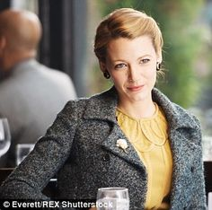 Ageless romance: Adaline lives decades in the movie before falling in love with a character played by Michiel Huisman