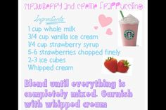 Secret Starbucks recipes... I WANT STARBUCKS RIGHT NOW!!!! WHY DON'T THEY DELIVER?! Like i haven't had it in like a month... Why can't I Drive?!!!!!!!!!!!!!!!