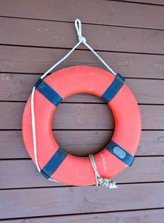 Vintage Life Ring Nautical Buoy from the 1960s in by KimBuilt, $45.00