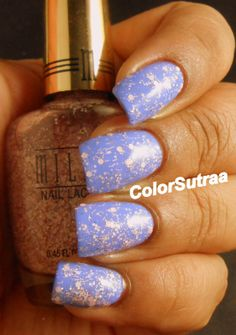 MILANI Spring 2014 collection : Swatches and Review (PART II) Sugar Burst (over Power Periwinkle)