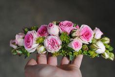 Tocados de pelo con flor natural Mayula Flores