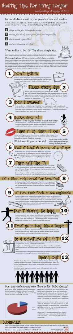 Healthy Tips - Live to be 100 haha#5