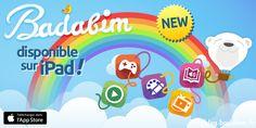 Carnet Rose : Bababim est arrivé ! #Badabim, application #enfant 2014.
