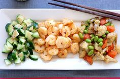 Butter Than Toast: Miso Shrimp with Sautéed Vegetables (Clean and potentially Paleo)