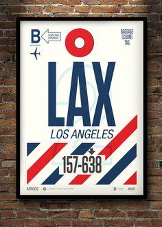 Airport destination graphics