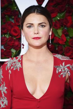 Keri Russell The Best Jewelry at the 2016 Tony Awards