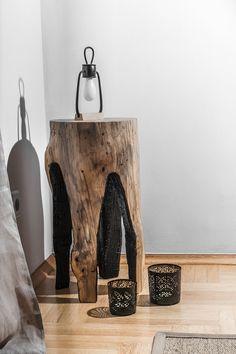 Side table, Coffee table, tree stump stool, reclaimed wood, wooden furniture, wood furniture rustic, wood log, pine table, stool, end table