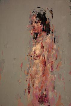 Kai Samuels-Davis I Stillness, 2016 I Oil on panel I 72 x 48 inches