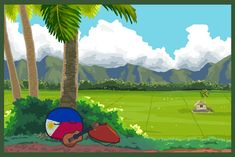"""""""One sunny afternoon…"""" ( Philippines ) by taongkalye """"One sunny afternoon…"""" ( Philippines ) by taongkalye Hetalia, Pictures Of Flags, Philippine Army, Army Memes, Sunny Afternoon, Country Art, Philippines, Fan Art, Entertaining"""
