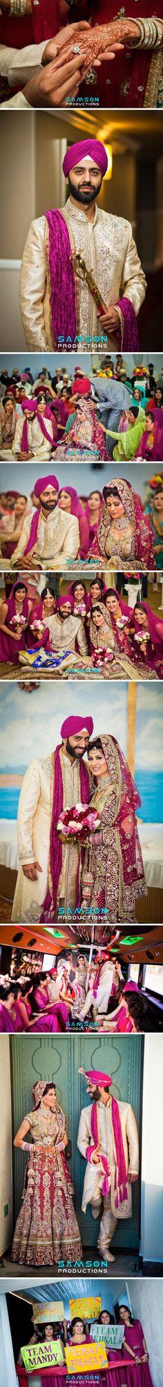 punjabi-indian-wedding-pictures  ShaadiGlitz.com